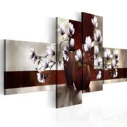 Kép - Magnóliák vázában 100x45