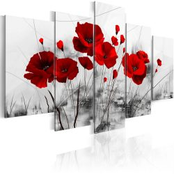 Kép - Poppies - Red Miracle 100x50
