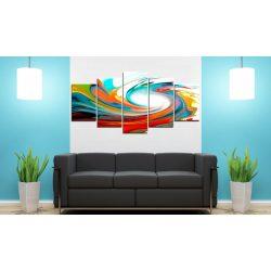 Kép - Colorful swirl 100x50