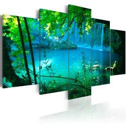 Kép - Turquoise seclusion 100x50