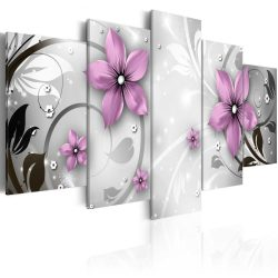 Kép - Saucy flowers 100x50