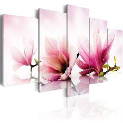 Kép - Magnolias: pink flowers 100x50