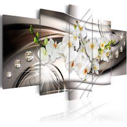 Kép -  Orchid with Diamonds 100x50