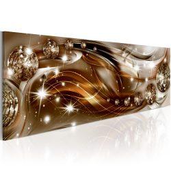 Kép - Ribbon of Bronze and Glitter 120x40