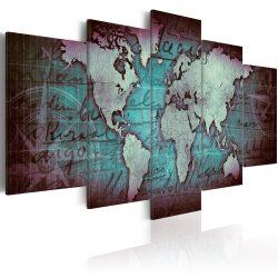Kép - falitérkép - Sapphire Map Világtérkép 100x50