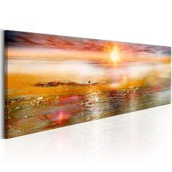 Kép - Orange Sea 150x50