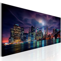 Kép - New York: Dark City 150x50