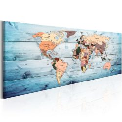 Kép - falitérkép - World Maps: Sapphire Travels Világtérkép 150x50