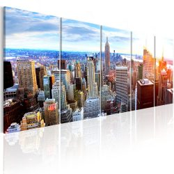Kép - New York: Sunrise 200x80