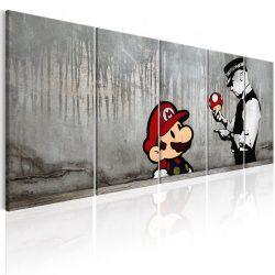 Kép - Mario Bros on Concrete 200x80
