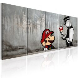 Kép - Mario Bros on Concrete 200x80