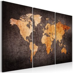Kép - falitérkép - Chestnut World Map Világtérkép 120x80