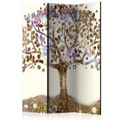 Paraván - Golden Tree [Room Dividers] 135x172