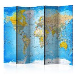 Paraván térkép - World Classic Map  [Room Dividers] Világtérkép 225x172