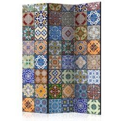 Paraván - Colorful Mosaic [Room Dividers] 135x172