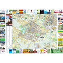 Kecskemét várostérkép Stiefel 1:15 000