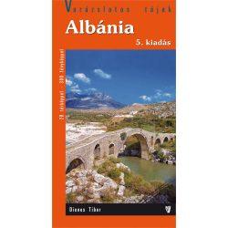 Albánia útikönyv Hibernia kiadó 2017