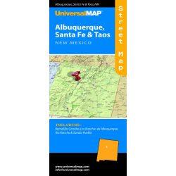 Albuquerque térkép, Santa fe térlép Universal Map Maryland
