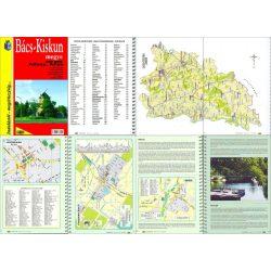 Bács-Kiskun megye atlasz HiSzi Map