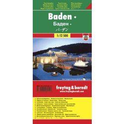 Baden térkép Freytag & Berndt 1:12 500