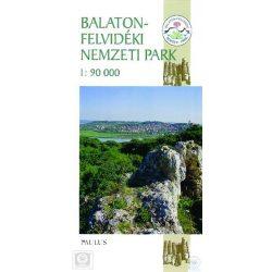 Balaton felvidéki Nemzeti Park térkép Paulus 1:90 000
