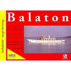 Balaton és környéke atlasz HiSzi Map