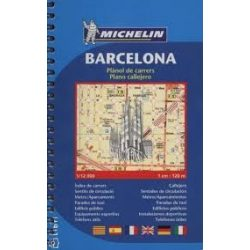 Barcelona atlasz Michelin  1:12 000