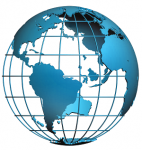 Interaktív beszélő földgömb 30 cm-es , intelligens, 4 nyelven beszélő földgömb
