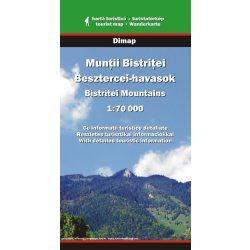 Besztercei-havasok térkép Dimap Bt. 2009 1:70 000
