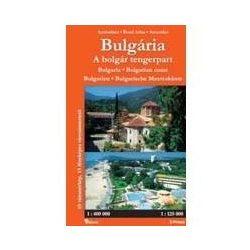 Bulgária térkép, atlasz, A bolgár tengerpart 1:400 000 Hibernia  2005