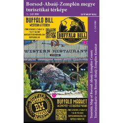 Borsod-Abaúj-Zemplén megye térkép Stiefel 1:165 000