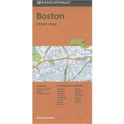 Boston térkép Rand M