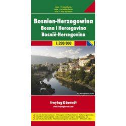 Bosznia-Hercegovina térkép 1:200 000 Freytag  AK 0712