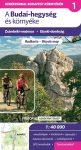 A Budai-hegység kerékpáros térkép Frigória 1:42 000    2015