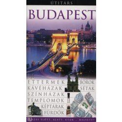 Budapest útikönyv Útitárs, Panemex kiadó