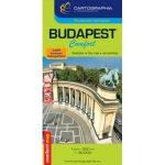 Budapest Comfort térkép (laminált) Cartographia 1:30e.