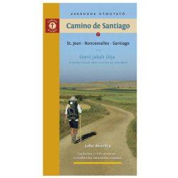 Camino de Santiago könyv Szent Jakab Útja könyv  Spanyol szakasz Zarándok útmutató