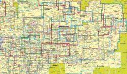 Kompass ausztriai turista és kerékpáros térképek