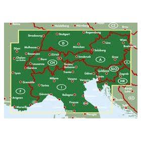 Európa régió térképek