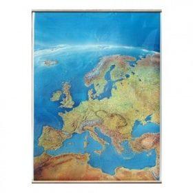 Lécezett-fóliázott, írható-mosható térképek