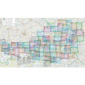 Freytag WK ausztriai turista és kerékpáros térképek