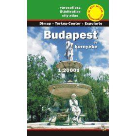Budapest térképek, atlaszok, kerület térképek