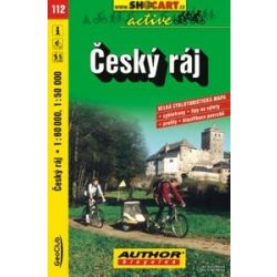 Cseh paradicsom térkép, Cesky raj kerékpáros térkép Shocart 1:60 000