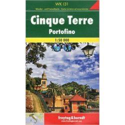 WKI 31 Cinque Terre térkép, Cinque Terre turistatérkép PortofinoFreytag 1:50 000