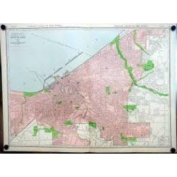 Cleveland térkép Rand M