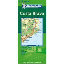 122. Costa Brava térkép Michelin 1:130 000
