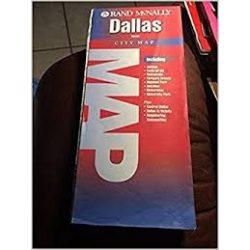 Dallas térkép, Dallas Metro Texas  Rand M