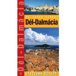 Dalmácia-Dél útikönyv Hibernia kiadó 2008 Utazzunk együtt sorozat