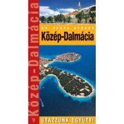 Dalmácia-Közép útikönyv Hibernia kiadó  2008 Utazzunk együtt sorozat