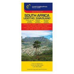 South-Africa, Lesotho térkép Cartographia, Dél-Afrika térkép 1:2 000 000